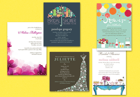 Bridal Shower Invitations and the Bride