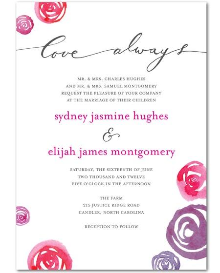 Frame Worthy Wedding Invitations Celebrity Style Weddings