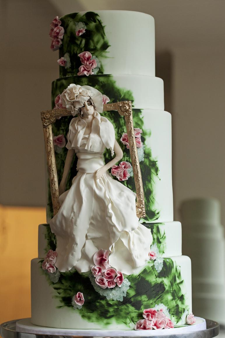 30 enchanting spring wedding cake ideas. Black Bedroom Furniture Sets. Home Design Ideas