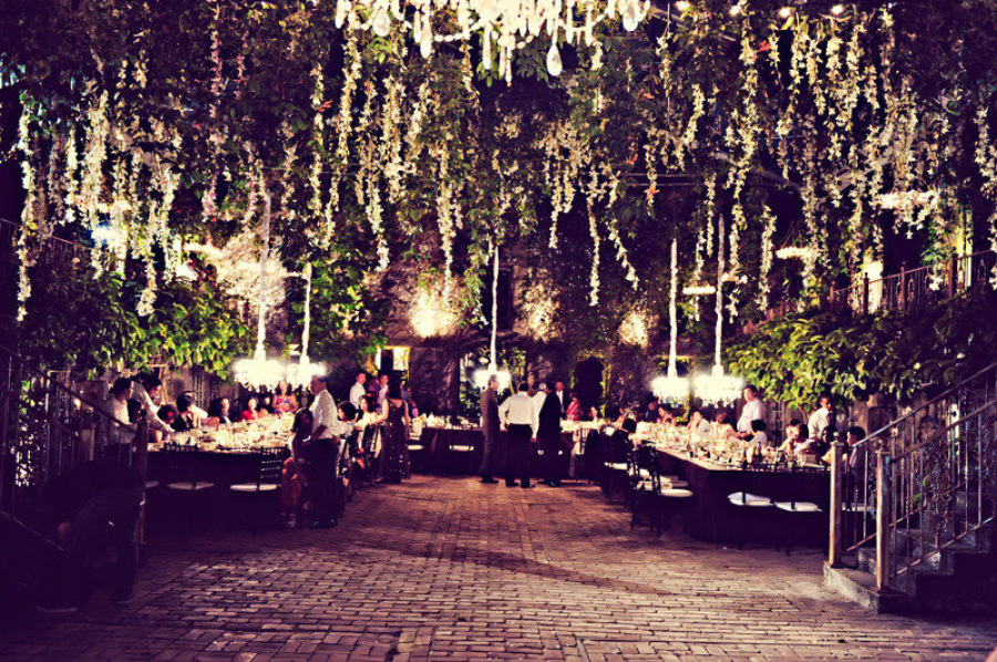 Stylish Outdoor Wedding Reception Ideas