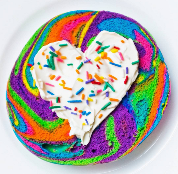 Will You Be Having The New It Food Rainbow Bagel At Your Wedding