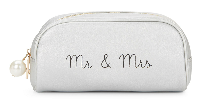 Dl Bleu Romance Mr and Mrs Zip Pouch