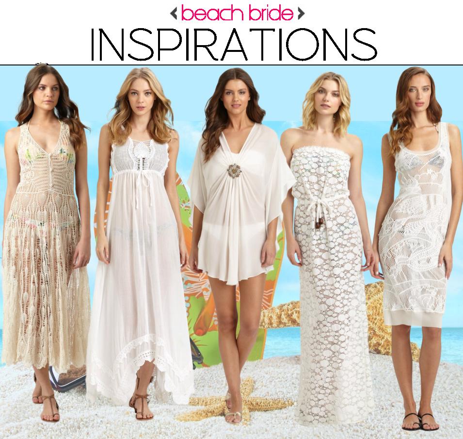 Wedding Gown Cover Ups: Beach Bride: White Beach Cover Ups