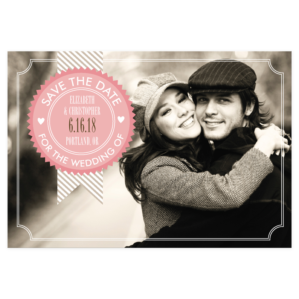 20 charming save the date cards celebrity style weddings