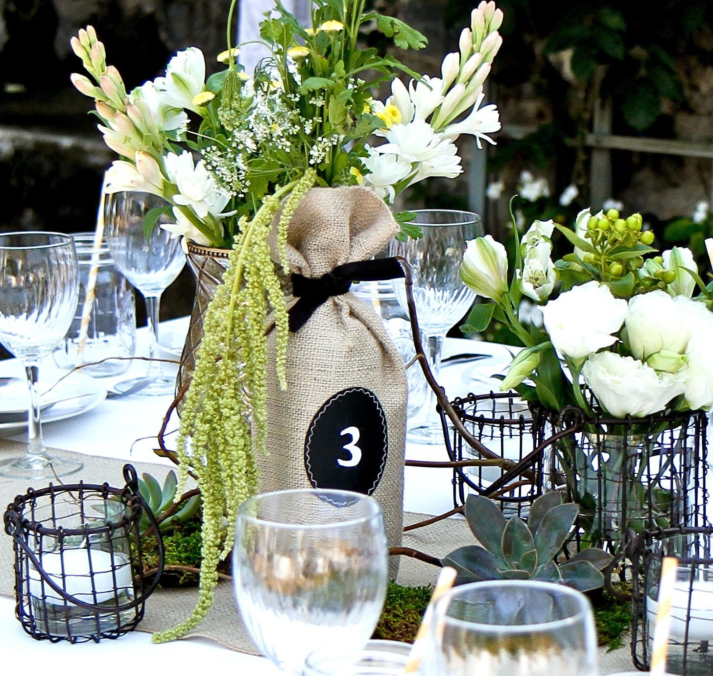 Rustic Wedding Ideas Using Burlap: 15 Ways To Use Burlap For Rustic Weddings
