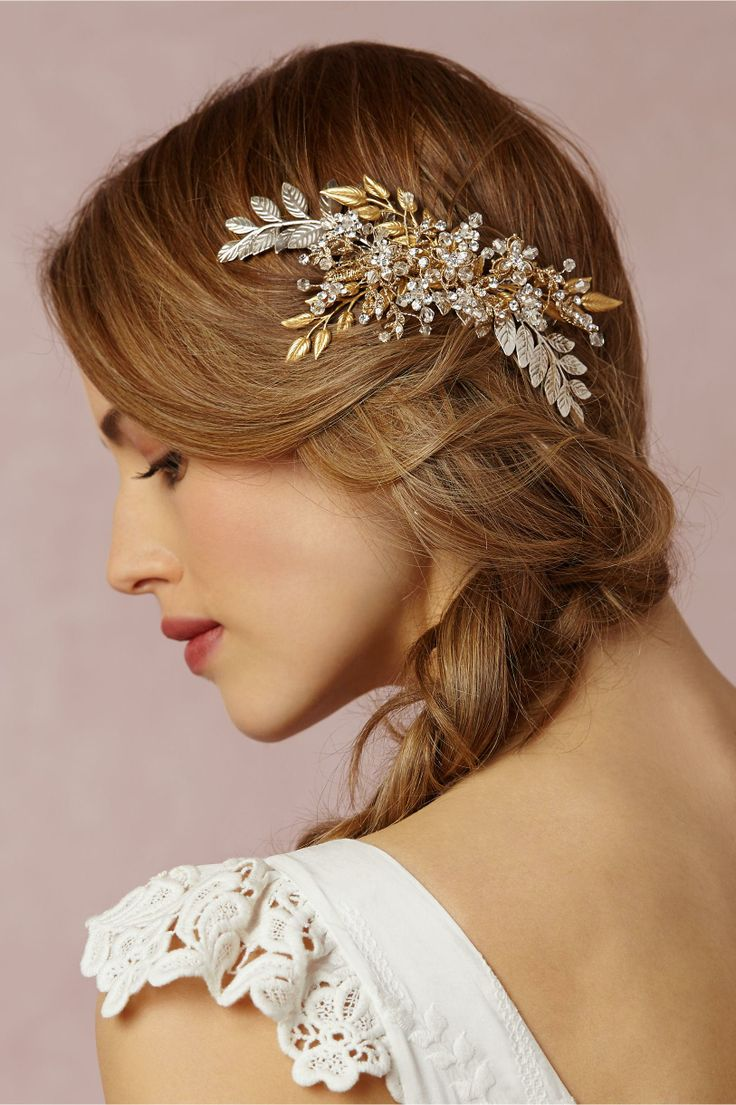 10 glamorous hair accessories - celebrity style weddings