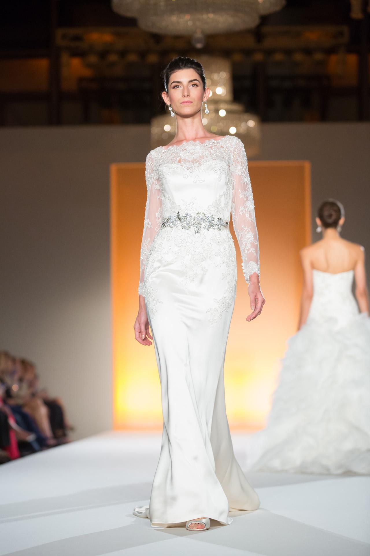 Runway: Enzoani 2015 Wedding Dress Collection