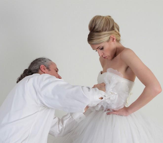 Interview With Wedding Gown Designer Christos Dovas New York