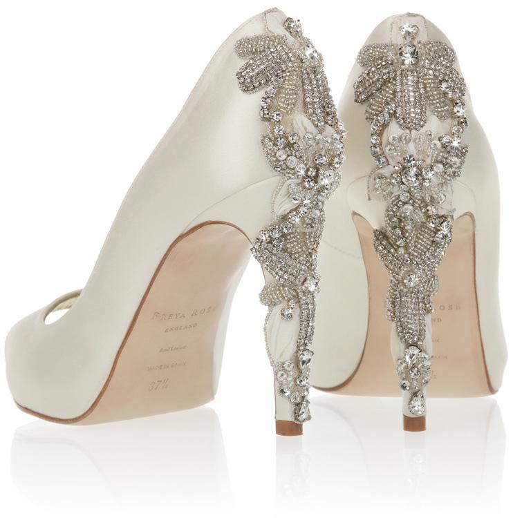 570daedd2a1 Freya Rose 2016 Bridal Shoe Collection - Celebrity Style Weddings