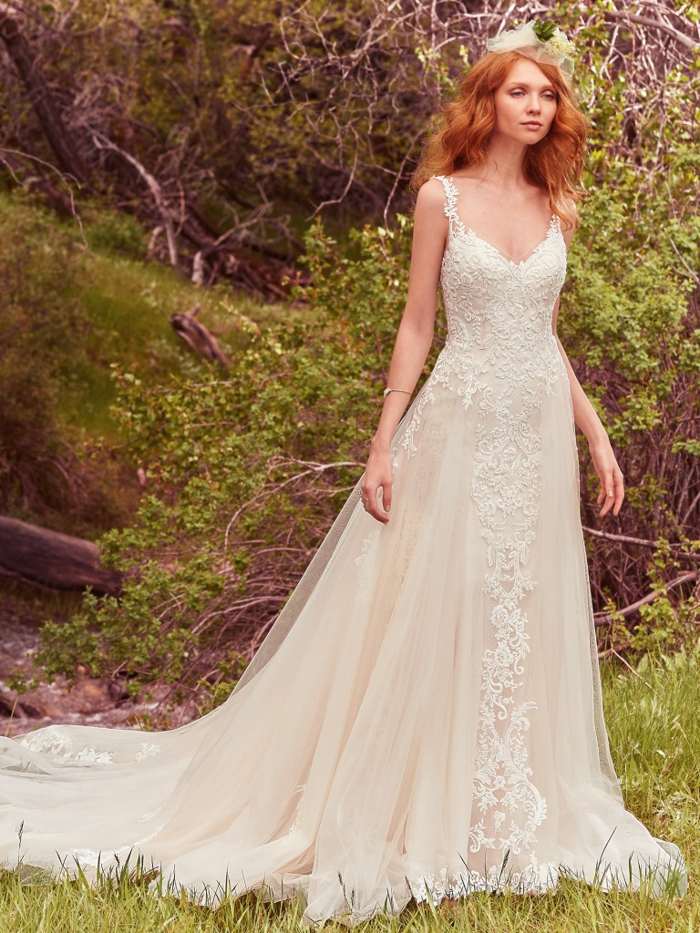c053949431e 8 Gowns From Maggie Sottero s Avery Collection That Will Make Your ...