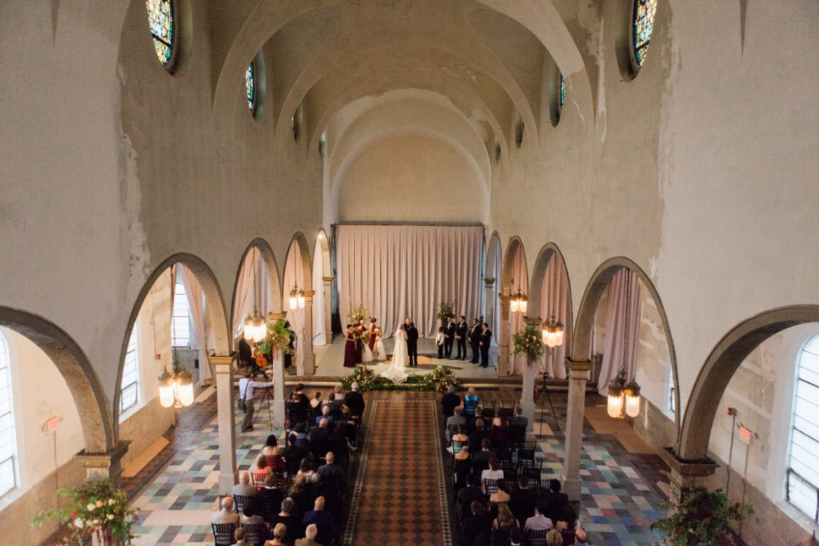 A Beautiful 200 Year Old Church Turned Performing Arts Center, The Marigny  Opera House, Made The Perfect Venue For The Vintage Inspired Wedding.